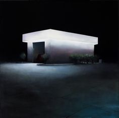 Night Lights Paintings by Trevor Young
