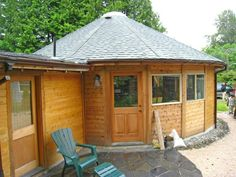 Smiling Wood Yurts :: Exteriors Gallery