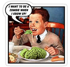 Little Tommy Always Eats His Greens
