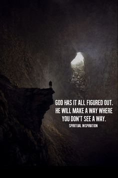 Even if you can't see it, God has a plan! #faith #plan #journey #inspiration #dontgiveup #peptalk