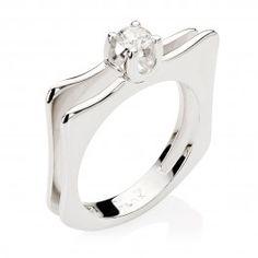 468 melhores imagens de anel   Rings, Diamonds e Estate engagement ring 4faff8a84a