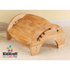 KidKraft 1-Step Manufactured Wood Adjustable Step Stool