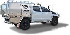 Toyota Hilux Aluminium Canopy - Norweld Aluminium Ute Trays and Aluminium Canopies