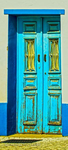 #Blue door #Portugal Photo by MaritaToftgard