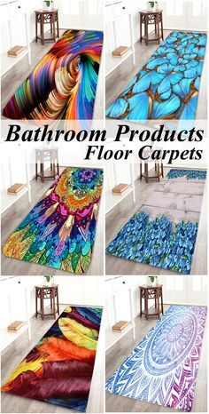 Bathroom Products-Floor Carpets