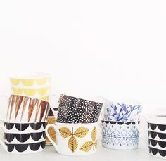 House Of Rym 'just my cup of tea' cups – tea and kate