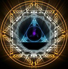 yosakura sigil by Darla-Illara on DeviantArt Dark Fantasy, Fantasy Art, Spell Circle, Magia Elemental, Magic Design, Magic Symbols, Magic Circle, Fractal Art, Mandala Art