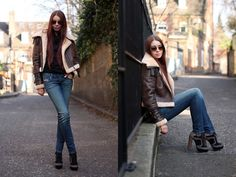 Aleksandra B from London highlighting just how good the Getlegg can look. Featuring Diesel Jeans #SuccessfullyStyled www.diesel.com/female
