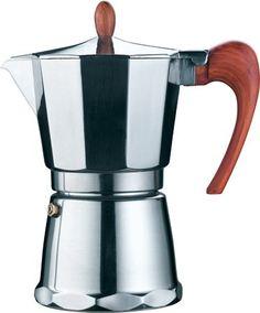 GAT Magnifica 6-cup Stovetop Espresso Maker - Commute Coffee Espresso Maker, Espresso Coffee, Best Coffee, Coffee Maker, Coffee Store, Polish Recipes, French Press, Italian Style, Food Grade