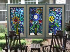 The Sacred World of Stained Glass – The Lone Girl in a Crowd Tiffany Stained Glass, Stained Glass Art, Stained Glass Windows, Mosaic Garden, Mosaic Art, Mosaic Glass, Fused Glass, Glass Vase, Painting On Glass Windows