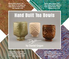 Hand Built Tea Bowls Lesson from Amoco