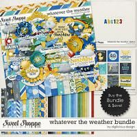 {Whatever the Weather} Digital Scrapbook  Bundle by Digilicious Design available at Sweet Shoppe Designs http://www.sweetshoppedesigns.com/sweetshoppe/product.php?productid=30389&cat=741&page=3 #digiscrap #digitalscrapbooking #digiliciousdesign #whatevertheweather