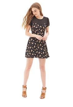 Chiffon & Floral Dress #SummerForever