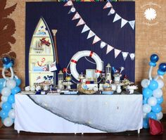 "Photo 4 of 8: Sailor / Birthday ""Benjamin's 1st Birthday Party"" 