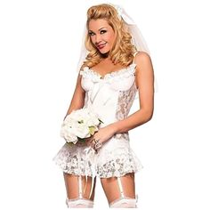 58bb1f82ac0a 2017 new sexy lenceria women underwear wedding dress style erotic lingerie  sexy costume night temptation white