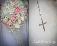 Rosary - my favorite rosary to use is one with faceted beads like this.