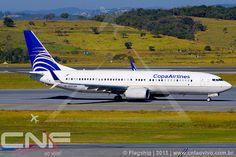 Boeing 737-800 Copa Airlines HP-1837CMP   por CNF ao vivo