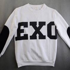 Find More T-Shirts Information about NEW KPOP Unisex Black EXO SBS T Shirt Sweater Miracles Cotton Hoodies 12 Members,High Quality t-shirt cover,China hoodie cheap Suppliers, Cheap hoodie with cat ears from China boutique shops 1 shop on Aliexpress.com