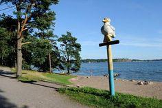 Mustikkamaa, uimaranta Google, Museum
