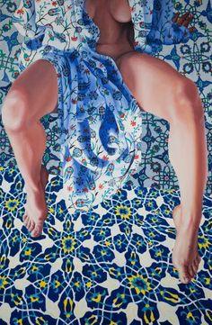 """Saatchi Art Artist Aleksandra Kalisz; Painting, """"Turkish act II [ON EXHIBITION]"""" #art"""