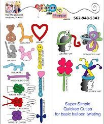 Image result for how to make balloon animal step by step