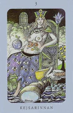 The Empress - Jolanda Tarot (Swedish Witch Tarot)