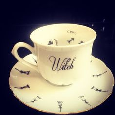 Madame B Wishful Fortune Telling Tea Leaf Reading Cup Magic  Witches Brew Game  #MadameBWishful