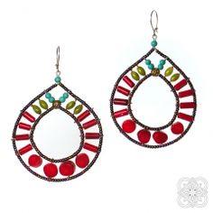Jewelery, Crochet Earrings, Handmade Jewelry, Drop Earrings, Blue, Collection, Jewlery, Jewels, Jewerly