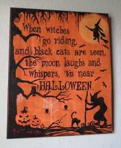 Halloween Sign.