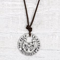 In Riding Horses Necklace