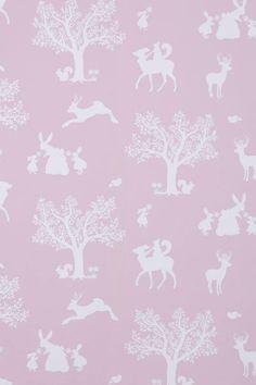 Children's Wallpaper - Enchanted Forest