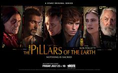 The Pillars of the Earth 11x17 TV Poster (2010)