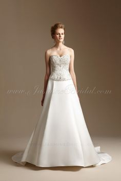 T152014 / Wedding Dresses / Jasmine Couture Collection / Available Colours : Ivory, White