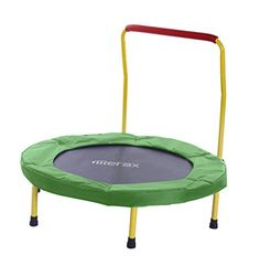 36 Folding Mini Trampoline with Handle BlueY *** You can find more details by visiting the image link. (This is an affiliate link) Trampoline With Handle, Indoor Trampoline, Trampoline Workout, Sports Games, Exercise For Kids, Poker Table, Cat Love, Fitness Inspiration