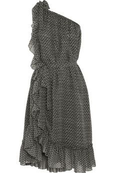 Isabel Marant Aiden printed silk-crepe dress | NET-A-PORTER. Bunchy, sexy, movement strong...