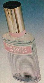 Avon Sweet Honesty Perfume 70s 80s