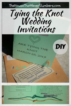 Tie the knot wedding - Tying the Knot Wedding Invitations DIY – Tie the knot wedding Free Wedding Invitation Templates, Wedding Invitation Etiquette, Wedding Expenses, Budget Wedding, Wedding Venues, Tie The Knot Wedding, Create Invitations, Invites, Tie The Knots