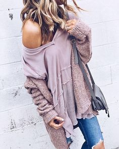 liketoknow.it: Ruffle accents and a slouchy cardi, pile on the layers via @cellajaneblog's cozy attire | Get ready-to-shop details with www.LIKEtoKNOW.it | http://liketk.it/2p2LW #liketkit