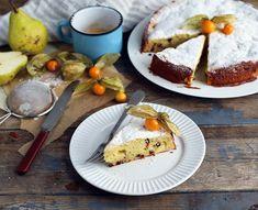 Ce gâteau moelleux à la ricotta  http://fr.chatelaine.com/cuisine/gateau-a-la-ricotta-poire-et-chocolat/
