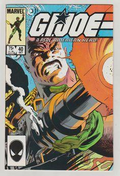 G. I. Joe A Real American Hero: Vol 1 40 by RubbersuitStudios #gigoe #shipwreck #comicsforsale