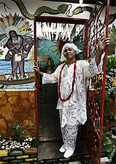 Terreiro liderado por Pai Valdemir festeja Gongobira e Dandalunda. Foto: Fernando Vivas| AG. A TARDE