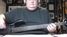 U2 - Red Hill Mining Town - Sire M3 Bass Cover - with Notes & Tablature