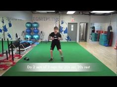 Hockey Goalie Training Video: Off-Ice Foundation Workout
