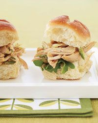 Indian Pulled-Chicken Sandwiches Recipe on Food & Wine