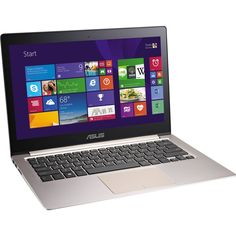 ASUS ZenBook UX303LN DB71T 133 Multi Touch Ultrabook Computer Brown TouchLaptopCore