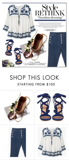 """Enjoy embroidery"" by edita-m ❤ liked on Polyvore featuring Gianvito Rossi"