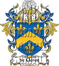 de Clercq Family Crest apparel, de Clercq Coat of Arms gifts