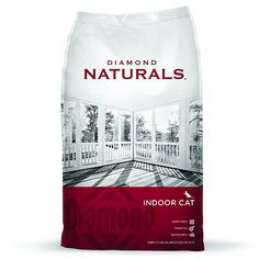 Diamond Naturals Dry Food for Adult Cats, Indoor Hairball Control Chicken Formula, 18 Pound Bag Diamond Pet Foods http://www.amazon.com/dp/B000OH35Z6/ref=cm_sw_r_pi_dp_MELuub10DXS9M
