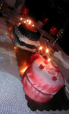 Jason and Sharons cakes i made:)