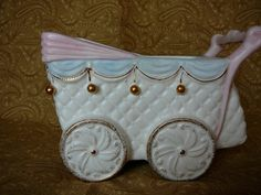 Musical Baby Buggy Planter by JulianosCorner on Etsy, - SOLD
